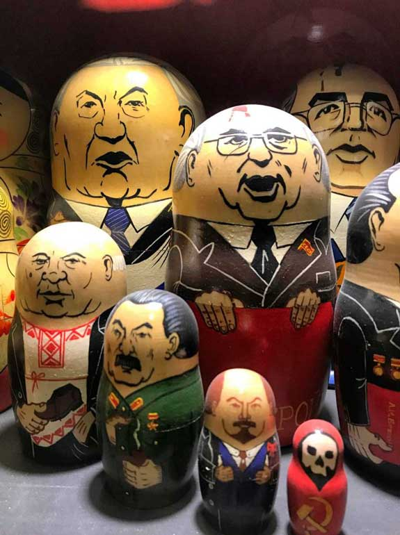 Matryoshka dolls Pollock's Toy Museum London