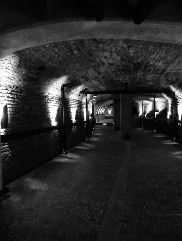 Part of the tunnel network of El Zanjon san telmo buenos aires
