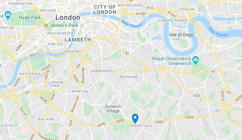 horniman-museum-london-location-map