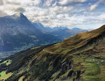 view from first in the bernese oberland