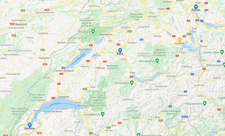 where-is-bern-located-in-switzerland-map