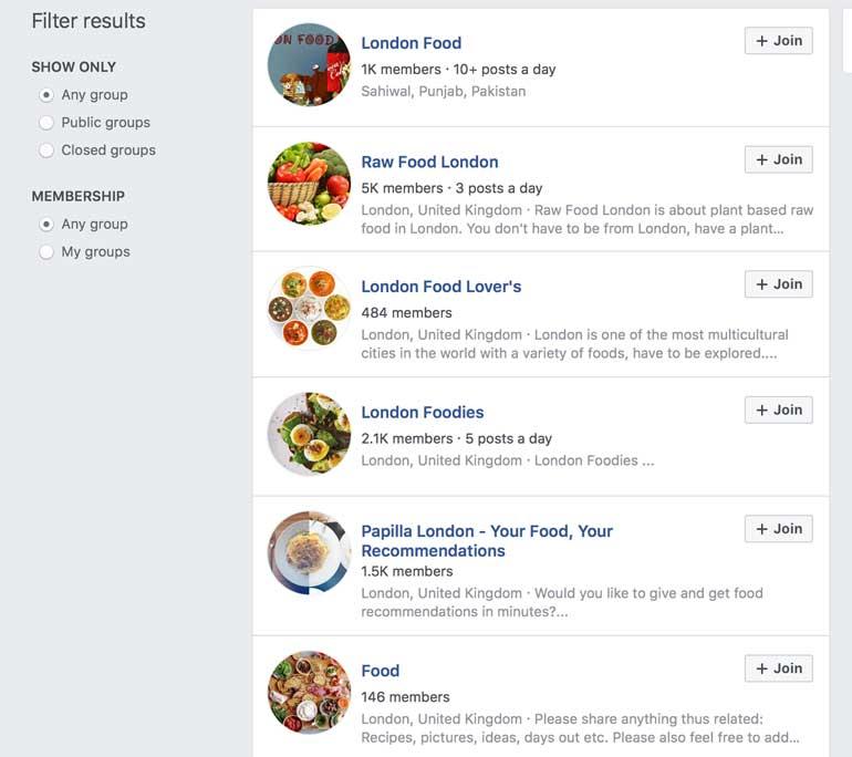 london-facebook-foodie-groups