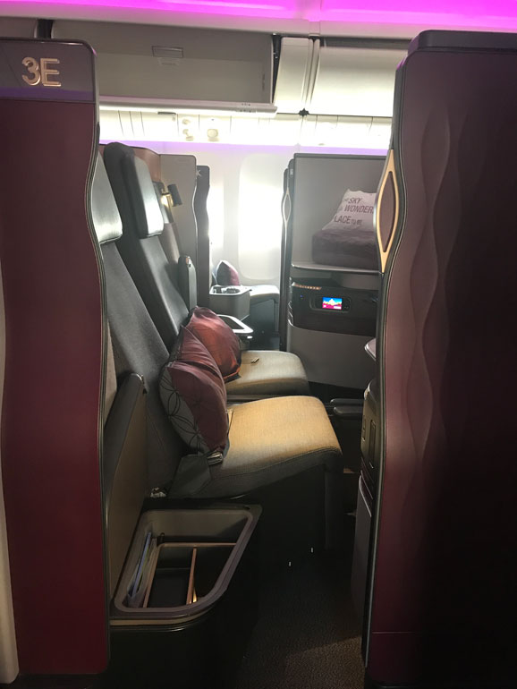Qatar Airways Business Cabin (QSuite)