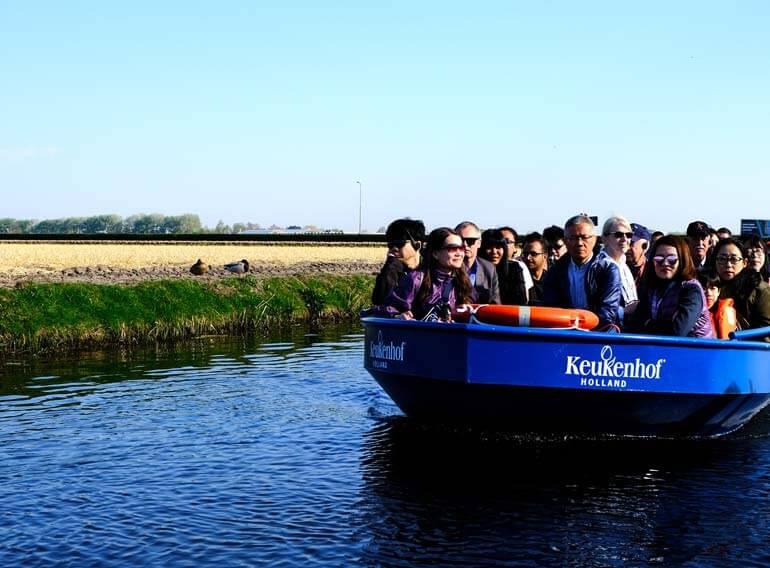 Keukenhof canal cruise