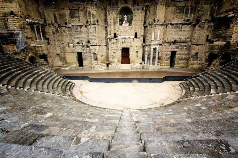 Amphitheatre Orange stage