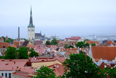 tallinn-skyline estonia