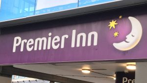 sign for premier inn heathrow airport terminal 4
