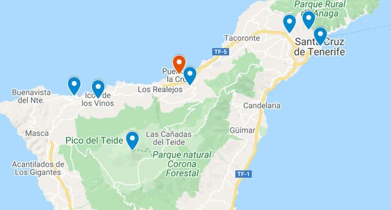 tenerife-1-week-itinerary-map