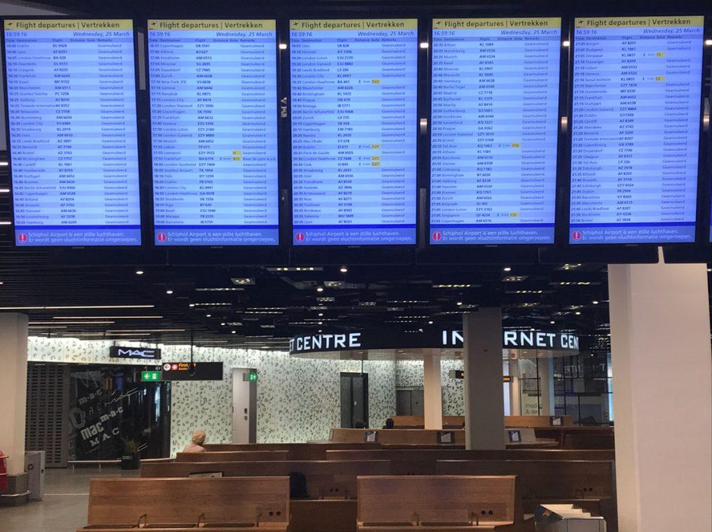 schipol-airport-during-coronavirus-pandemic