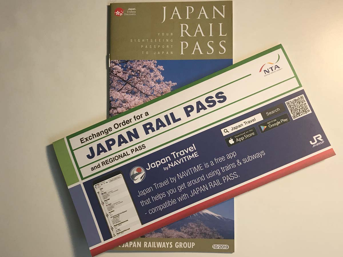 JR-pass-GUIDE AND exchange-voucher