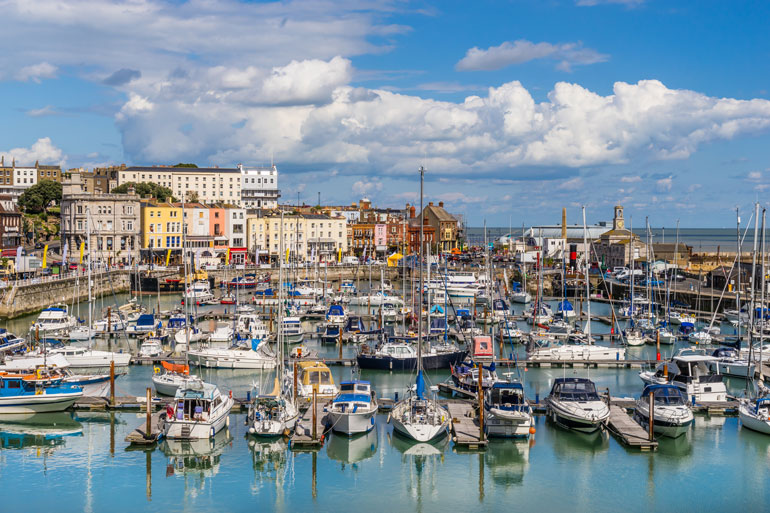 brightly-coloured-boats-in-ramsgate-harbour-kent