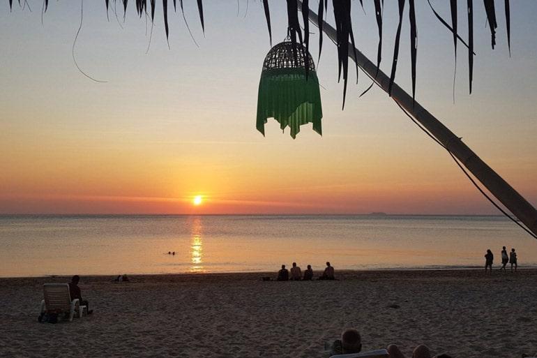 sunset-on-beach-in-Koh-Lanta