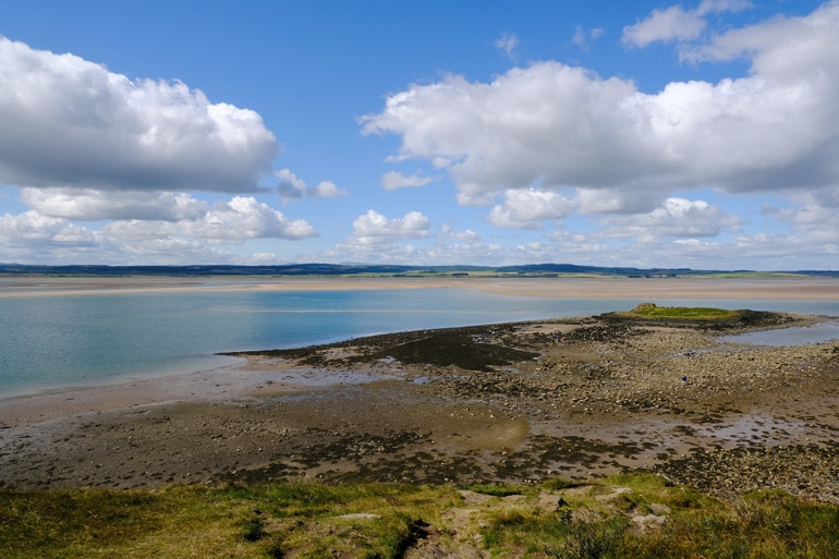 View from The Heugh, Holy Island