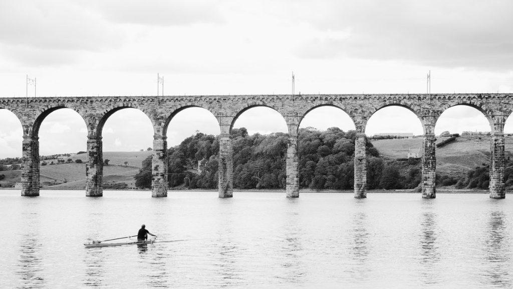kayaking on river tweed is one of the best things to do in berwick upon tweed