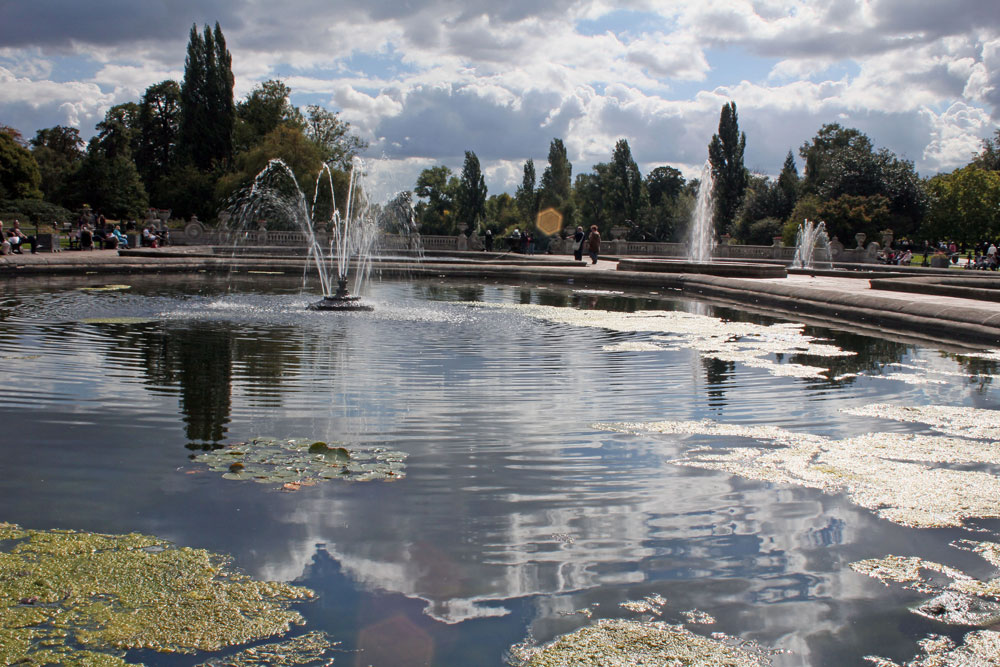 lilypond in hyde park london