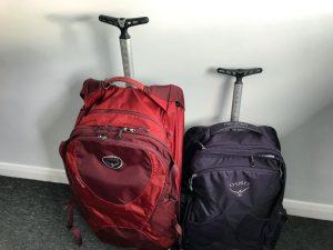 fairview 36 wheels vs ozone 75 in osprey backpacks review