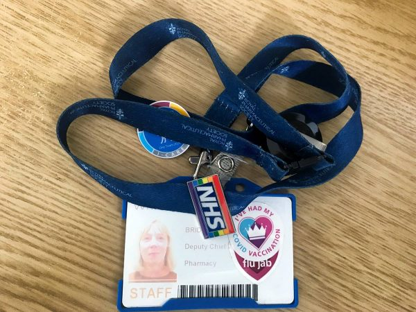 staff id pass on the day the owener quit as an nhs pharamcist