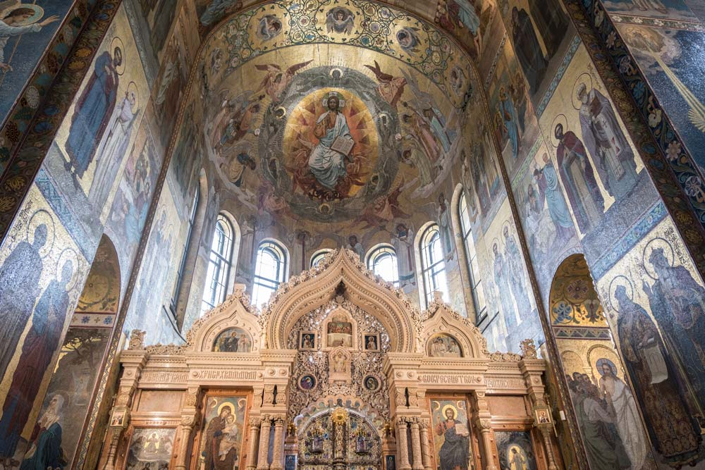 Church of Our Saviour on the Spilled Blood, St. Petersburg