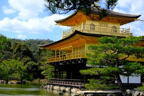 golden temple of kinkaku-ji is one the best things in kyoto