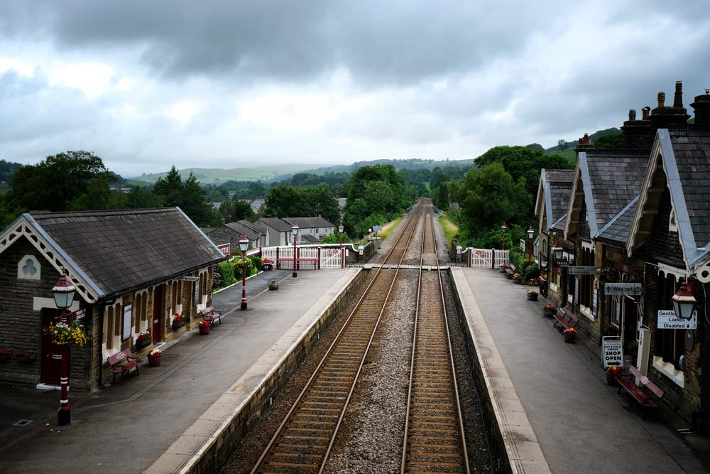 railway station in settle yorkshire