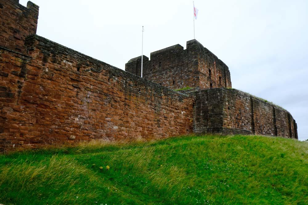 Carlisle Castle exterior wall