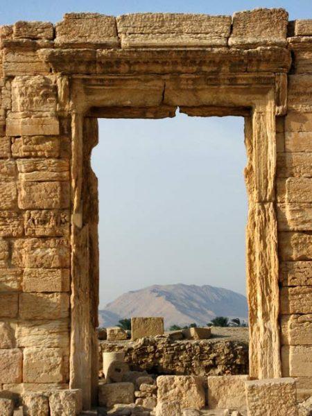 ancient roman gateway