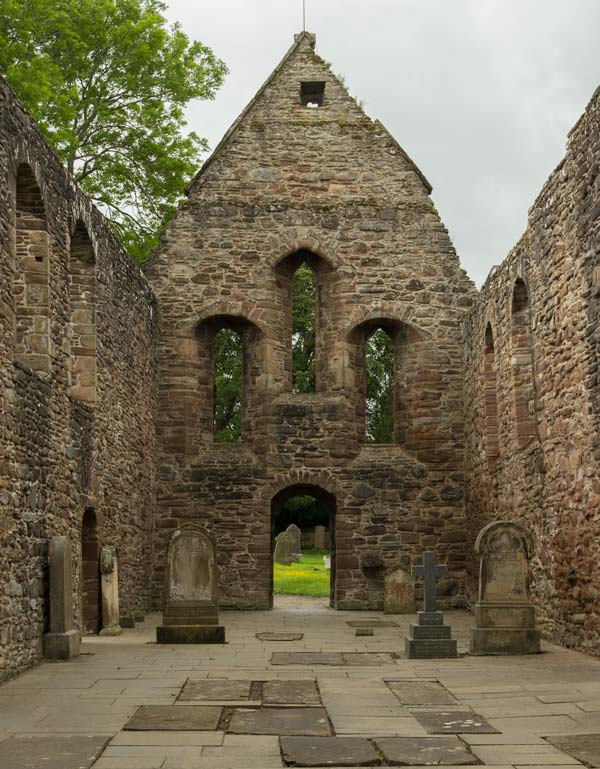 ruins of old priory