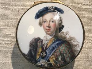 pendant of bonnie prince charlie