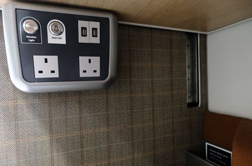 wall-mounted room controls