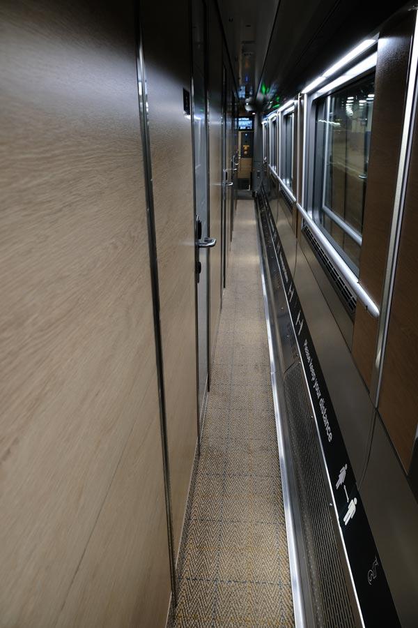 train corridor
